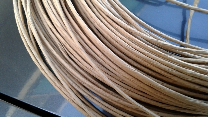 EXCELLENCE of TWISTED PAPER ROPE - PicenuMeccanica